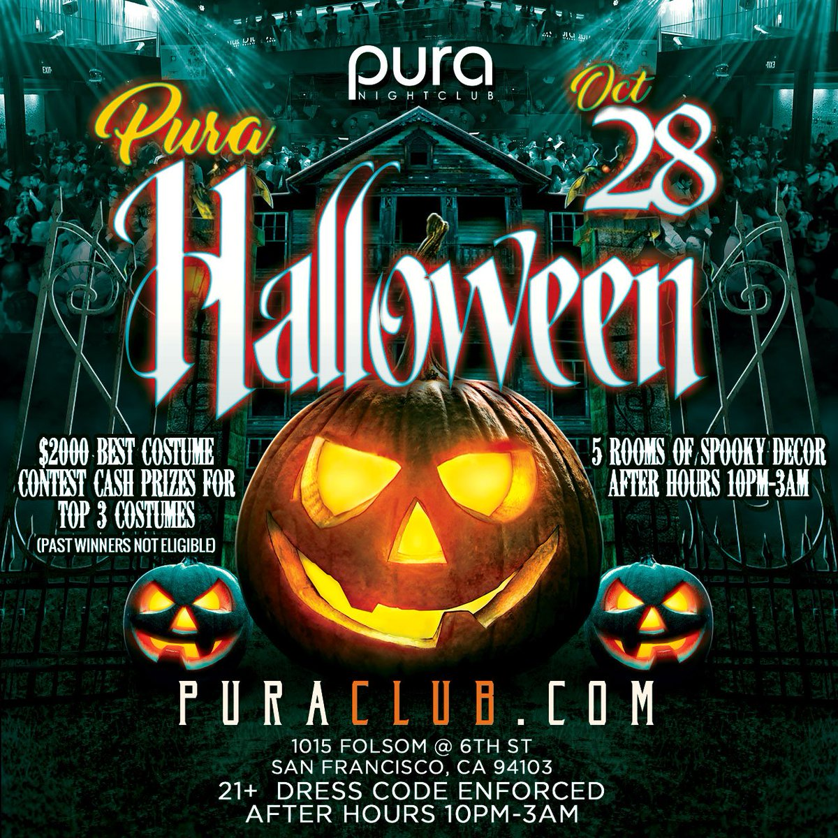 pura club on twitter trick or treat our annual halloween party