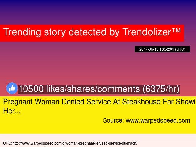Pregnant service woman