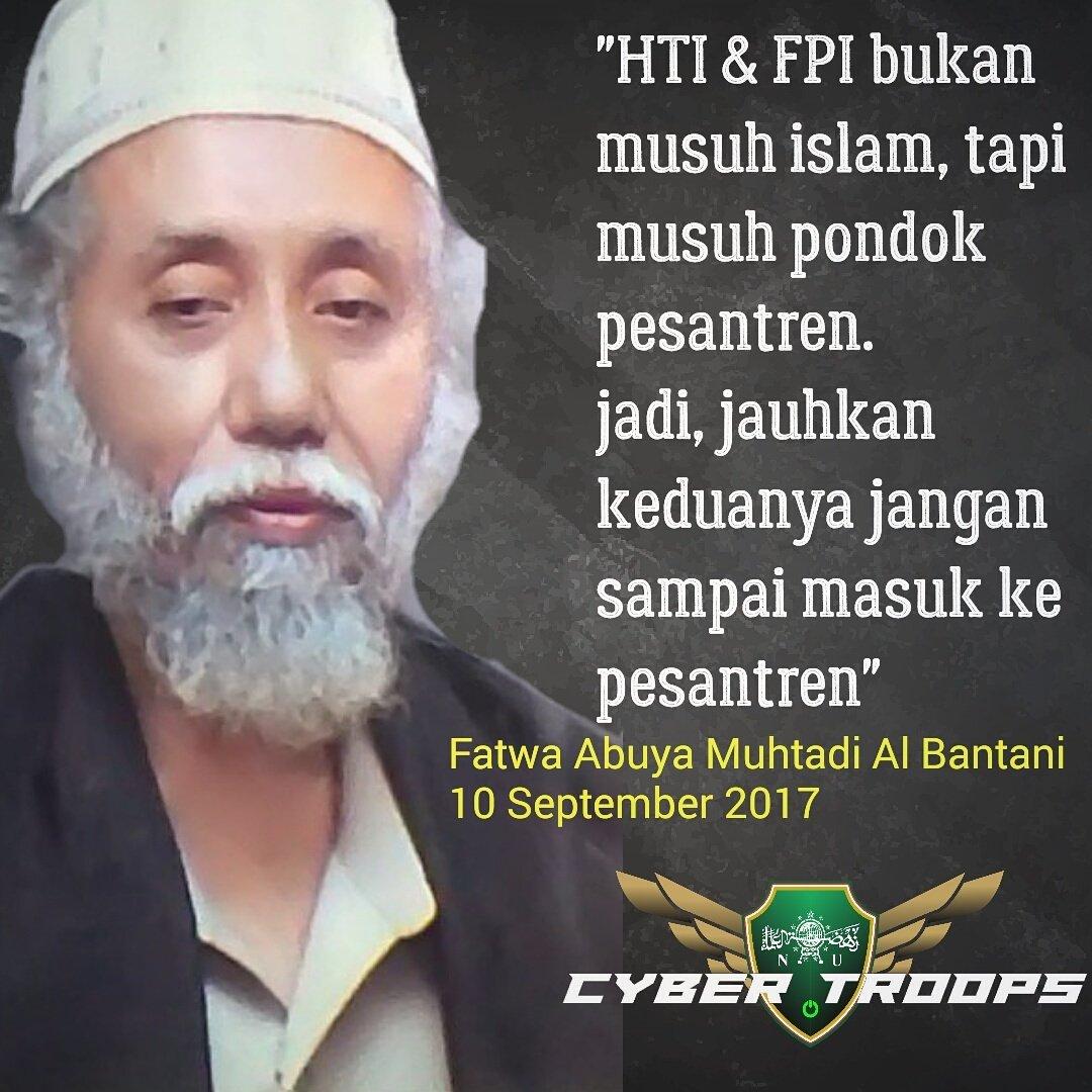 Nu Cyber Troops On Twitter Jauhkan Hti Fpi Dari Ponpes
