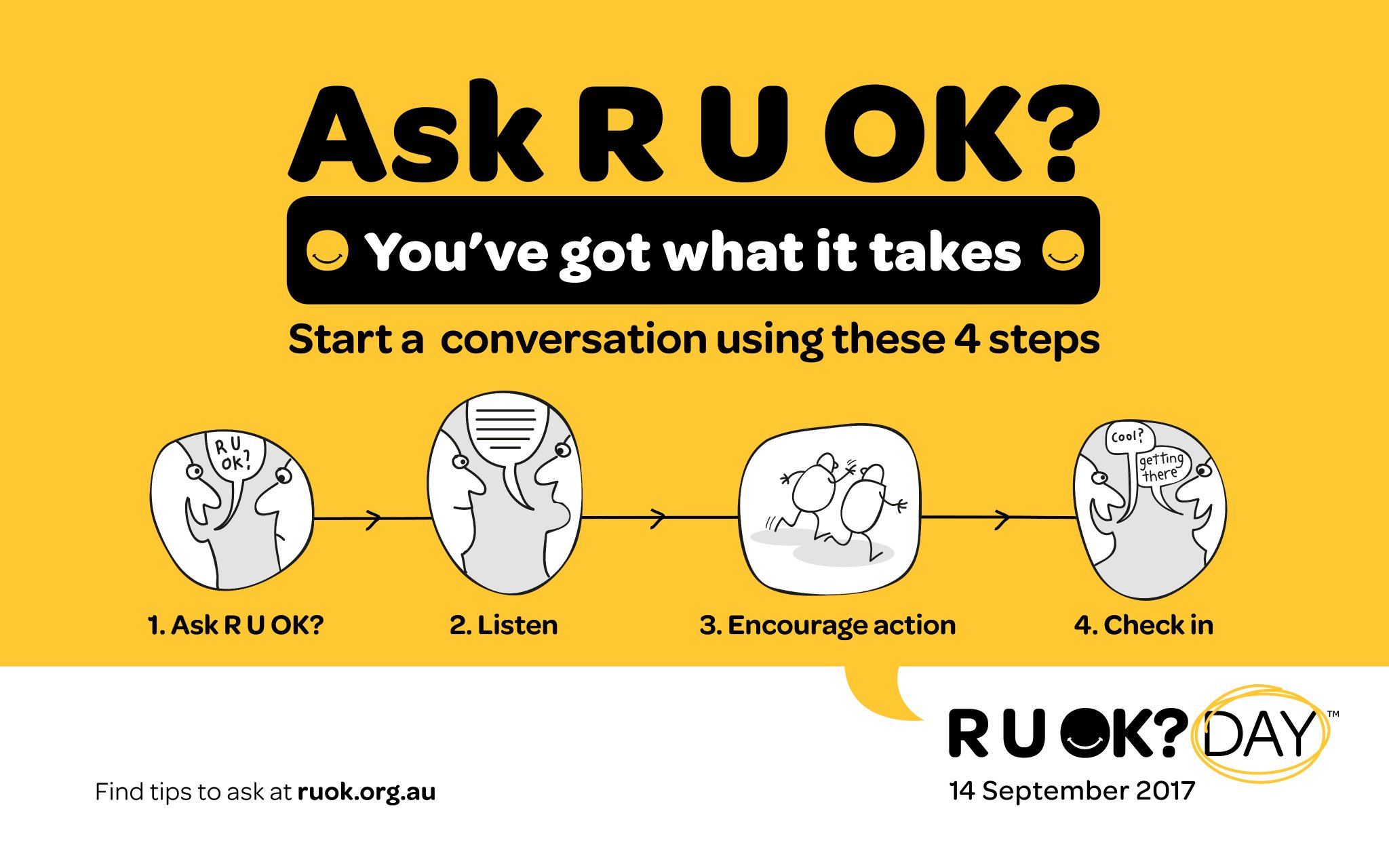 r u ok day 2018 - photo #1