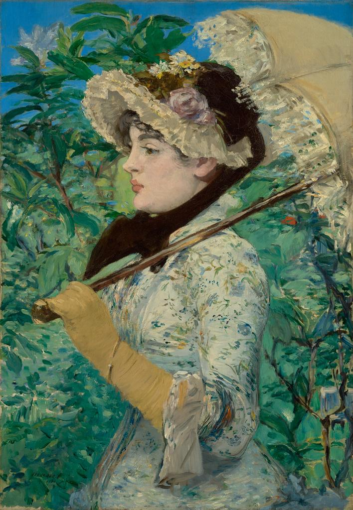 """Scott Allan is LIVE with 'Jeanne (Spring),"""" by Édouard Manet on the Mu..."""