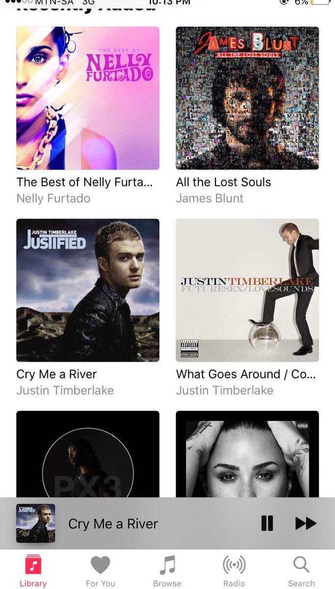 Timberlake songs