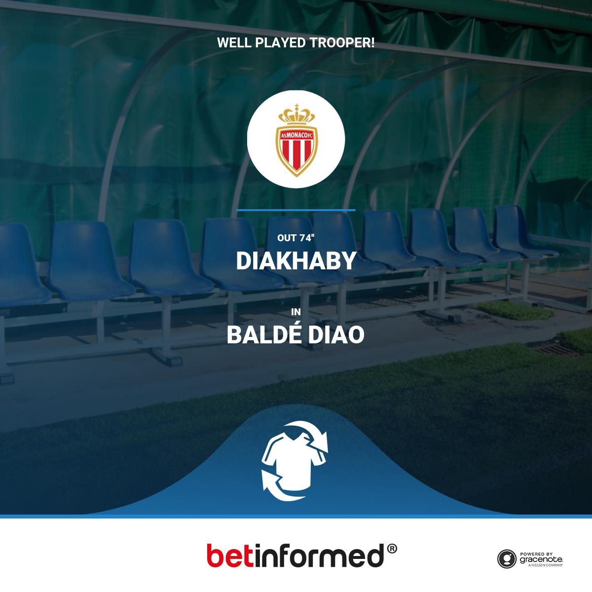 Are you excited to see Baldé Diao play? Will this change the match outcome you think? #ASMASSE, #asmonaco $team_b_hashtags #UCL<br>http://pic.twitter.com/sMd54sdT4x