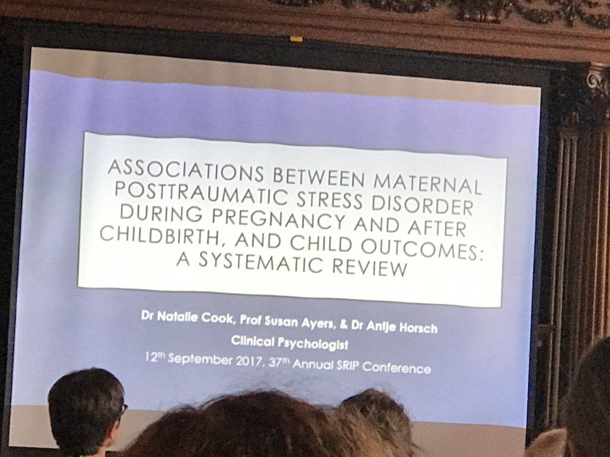 Great conference #srip2017 new research findings for health care professionals to better help families,  @DrAntjeHorsch<br>http://pic.twitter.com/S5NtEUKQb9