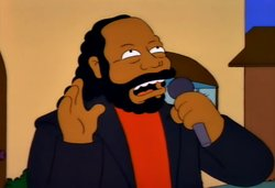 In Memoriam of the late Barry White. Happy Birthday and RIP.