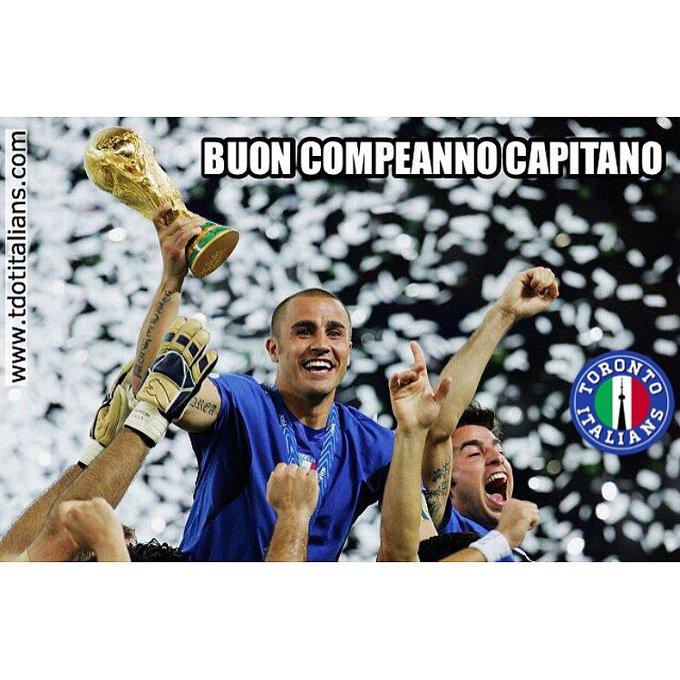 | Happy Birthday Fabio !   The former captain turns 44 today!