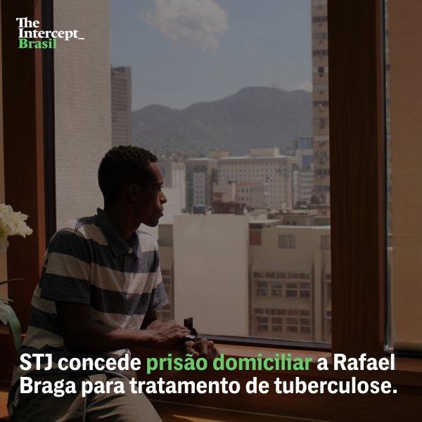 Rafael Braga deixa Complexo de Gericinó, após STJ constatar condições insalubres parar o tratamento da tuberculose. #LibertemRafaelBraga
