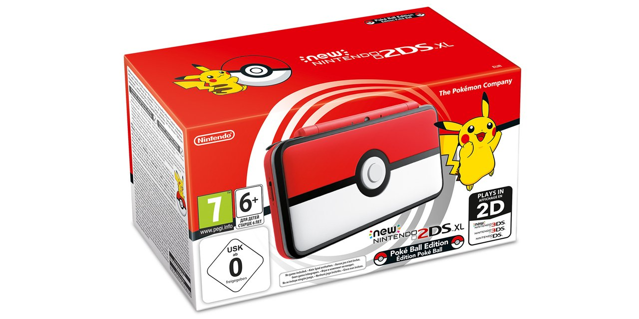 New Nintendo 2DS XL Édition Poké Ball