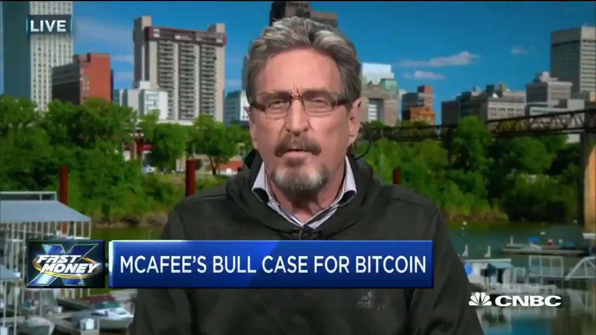 Here's what @officialmcafee had to say to Jamie Dimon's bitcoin bashing comments https://t.co/h2BW6wi3uR