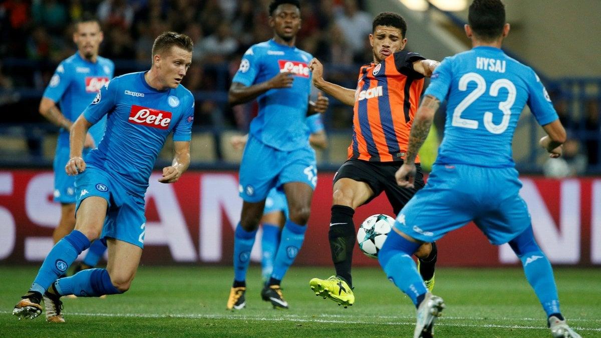 Video: Shakhtar Donetsk vs Napoli