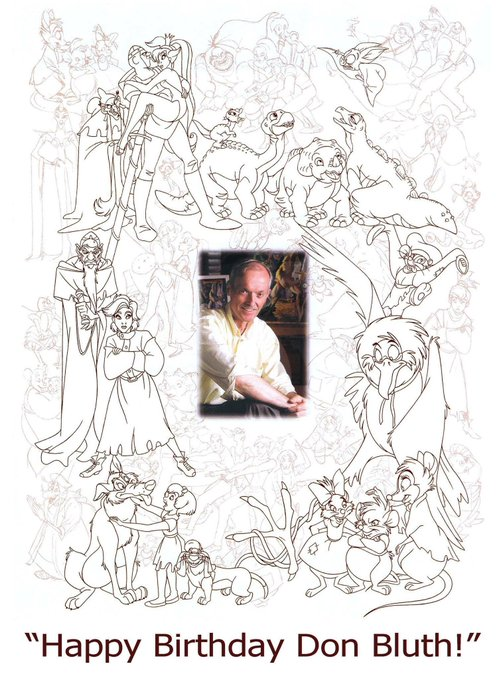 Happy 80th birthday to the man, the myth, the legend, Don Bluth!