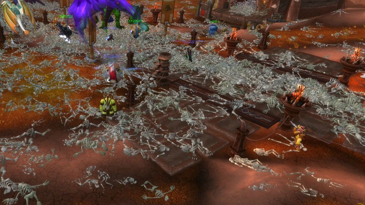 The Zul'Gurub Corrupted Blood Incident took place 12 years ago today: https://t.co/pbQqINBzIy https://t.co/H5AylDXrU0