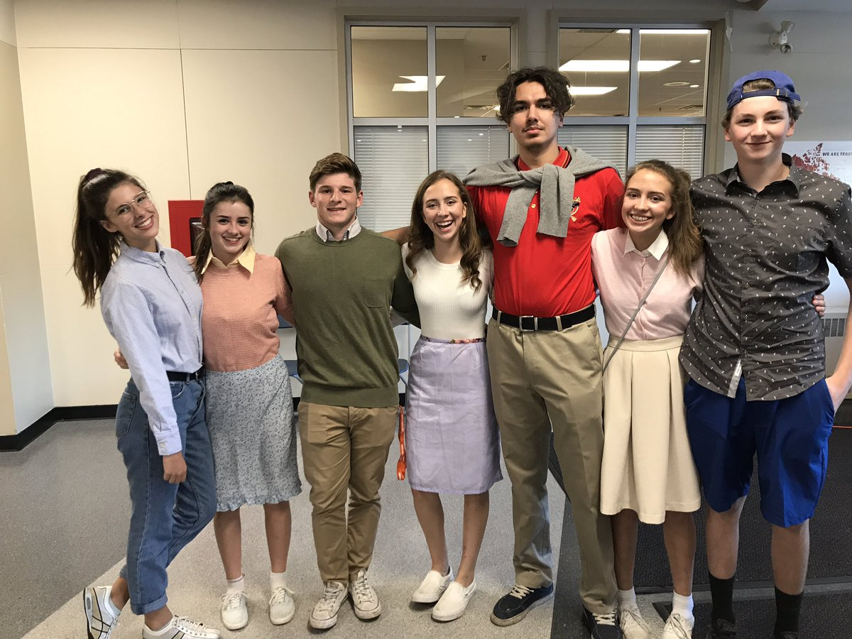 """Yale Secondary on Twitter: """"Greaser girls! #LionPride…"""