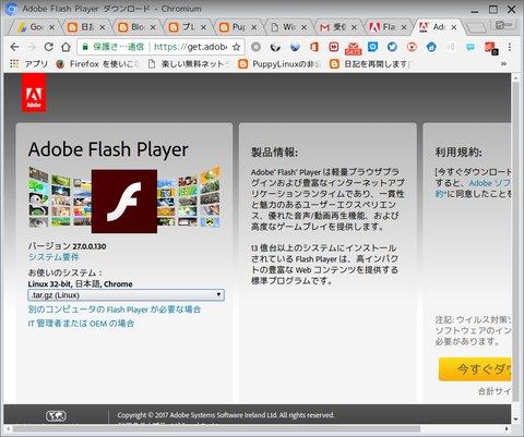 Flash player windows