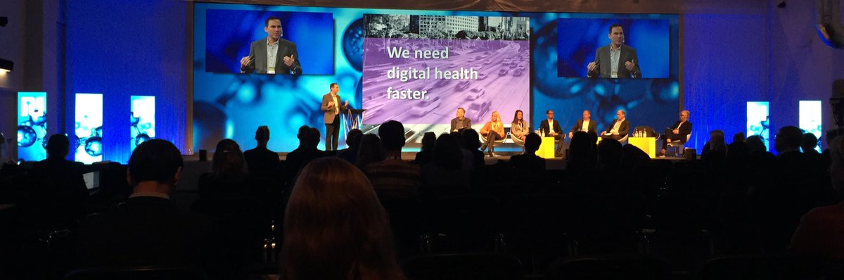 We need digital health faster, says Anthony Sigrest, responisble for patient innovation @abbvie #nlsdays <br>http://pic.twitter.com/kysMi53htM
