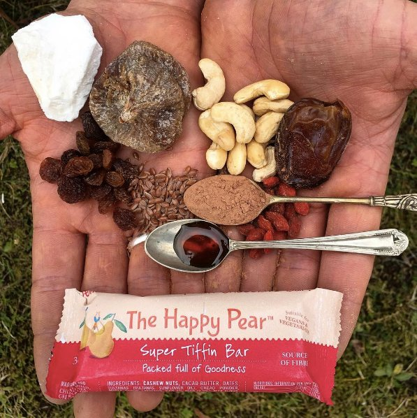 #GIVEAWAY Ever wondered what goes into our Super Tiffin Bar? Here's one deconstructed to show you what's inside!! #RT to #Win a box! 😍