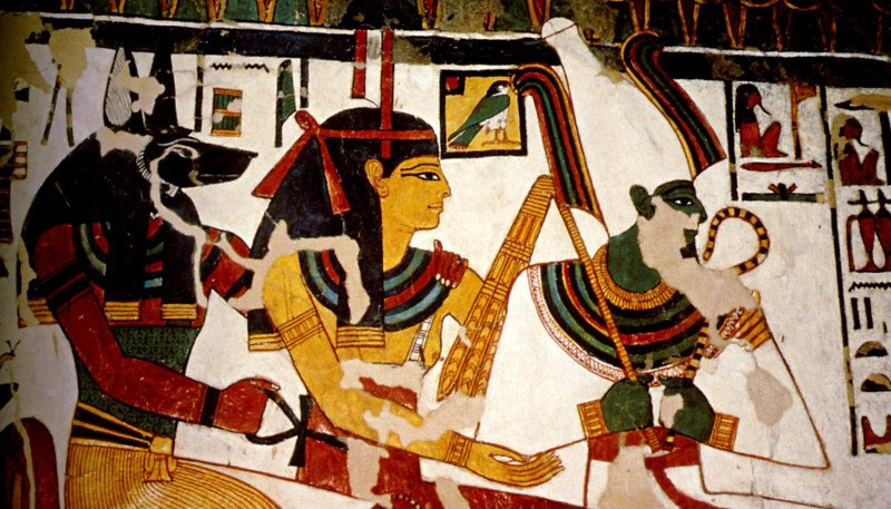 Искусство древнего египта фото