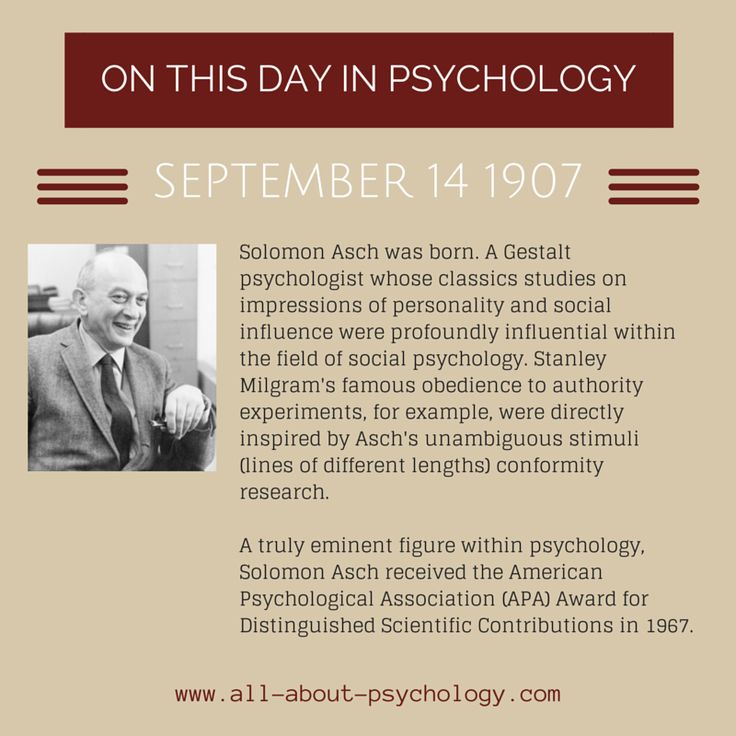 asch cognition essay in legacy psychology social solomon Psychology (gestalt, social, cognitive) institutions: solomon asch's legacy for group research personality and social psychology, 3(4), 358-364.