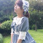Lolita Fashion💙「夏のお嬢様」という名前のスカート、似合うかな٩(๑❛ᴗ❛๑)۶? p…