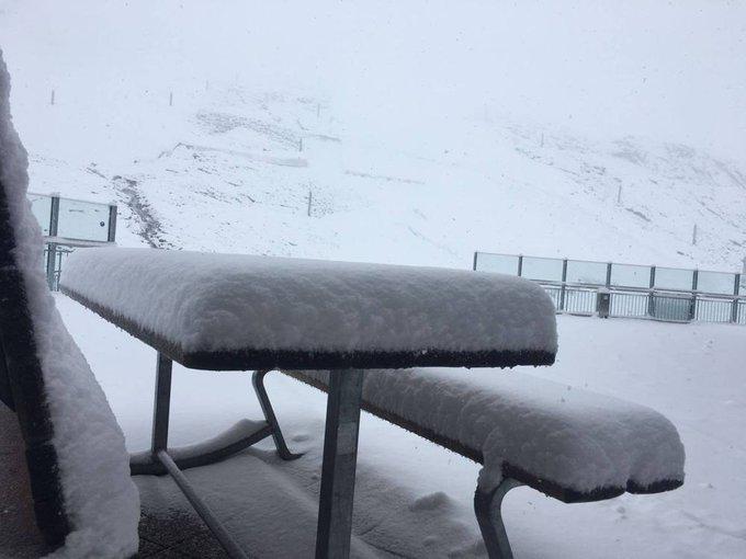 Gracias a las nevadas de estos días, varios glaciares de los Alpes vuelven a abrir sus pistas!! 😀❄️⛷️ https://t.co/25oMkflY8T via @nevasport