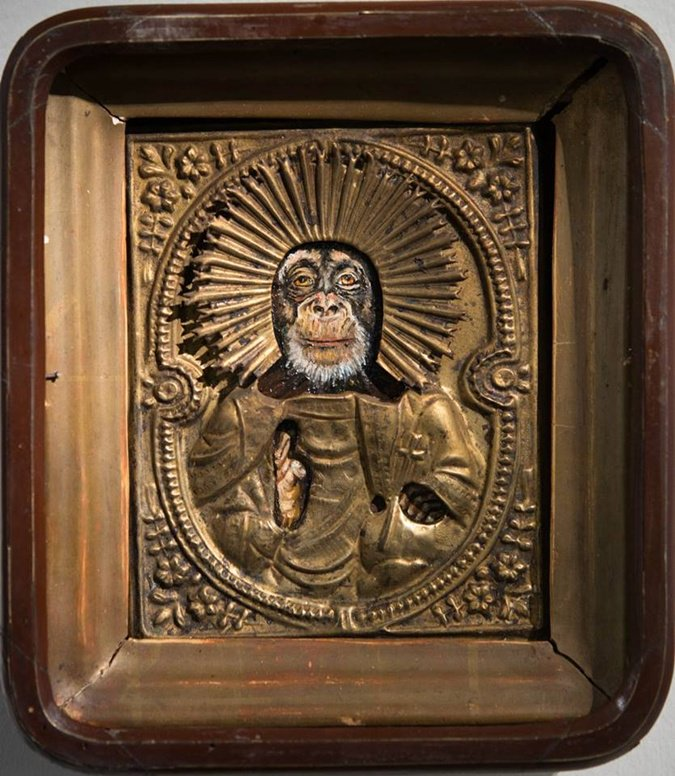 #религия #светское_государство  Оскорбление чувств верующих по-украински. Иконы с обезьянами пошли по 161-й статье: https://t.co/ZPPPd6KCLo