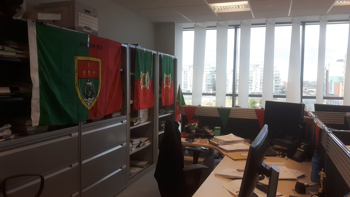 entire office decked. Orla Cleary On Twitter: \ Entire Office Decked