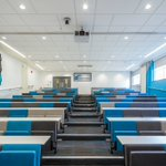 @FWPGroup Fantastic Lecture hall now complete at the Royal Preston Hospital #education #acoustics Looking great guys!