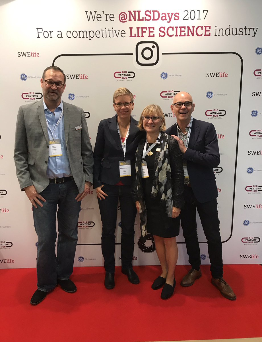 Collaboration for success. #swelife #gehealthcare  #bioventurehub #NLSDays #lifescience #innovation<br>http://pic.twitter.com/dnaBqqQBw2