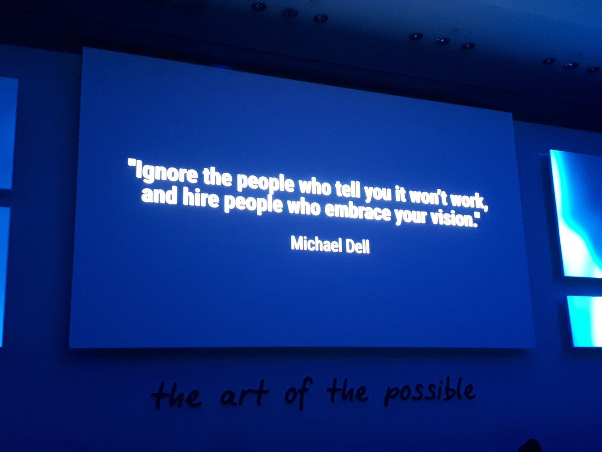 "Emc Quote Thierry Petit On Twitter ""great Quote From Michael Dell To Kick"