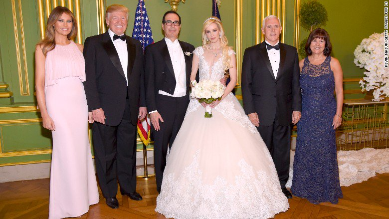 US Treasury Secretary Steve Mnuchin asked to use a government jet for his honeymoon, but later withdrew the request https://t.co/reSgaU3ljg