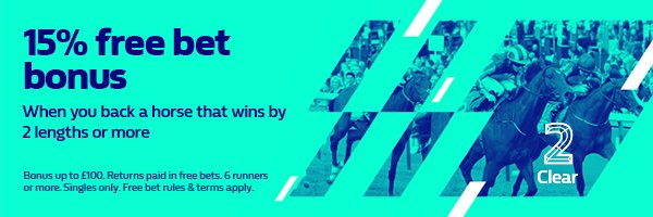 15% bonus on all races at #Doncaster if your horse wins by 2+ lengths! (Paid in free bets)   http:// mb.tips/WILLIAM-HILL  &nbsp;  <br>http://pic.twitter.com/LIlCGL9qbL