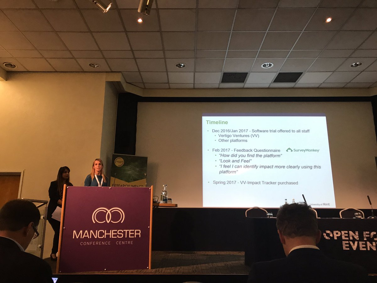 @UniKentResearch talking about how they are using VV-Impact Tracker to embed #impact #OFEREF <br>http://pic.twitter.com/1LJZ5zt0hr