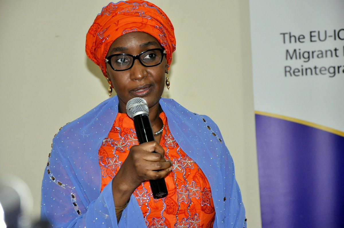 Hajiya Sadiya Farouq Pushes For Safe, Dignified Return of Nigerian Migrants