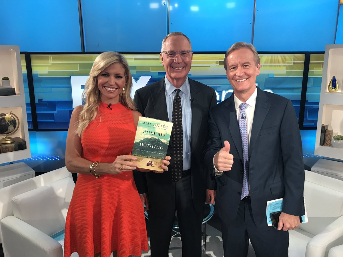 POWER OF PRAYER. Pastor Max Lucado talks about his book 'Anxious for Nothing' and how the Bible helps calm anxiety. @foxandfriends @FoxNews