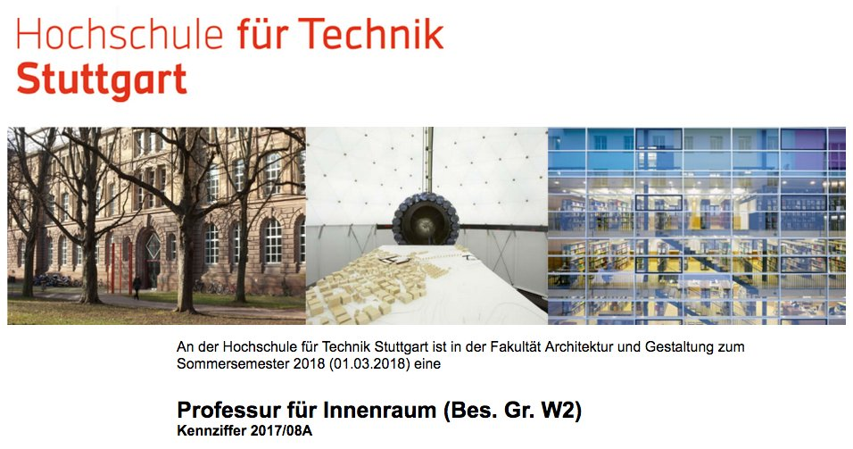 Innenarchitektur Hft Stuttgart bdia bdia bund