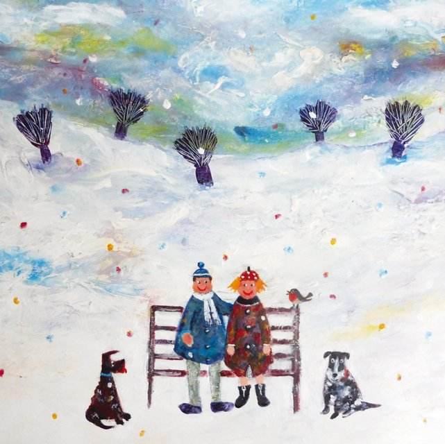 New Greeting Card! &#39;Magic Moment&#39; by Painter @ThereseJames1 .  https://www. greenpebble.co.uk/products/tj0-2 4-17-wedding-day &nbsp; …  #greetingcards #availableonline #freeukdelivery<br>http://pic.twitter.com/qTOmh3OLqb