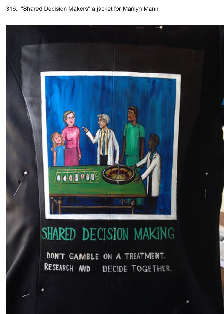 Jacket 316 of 481 in #theWalkingGallery #PatientsIncluded Help us tell more stories https://t.co/Ub2sl8zGWN