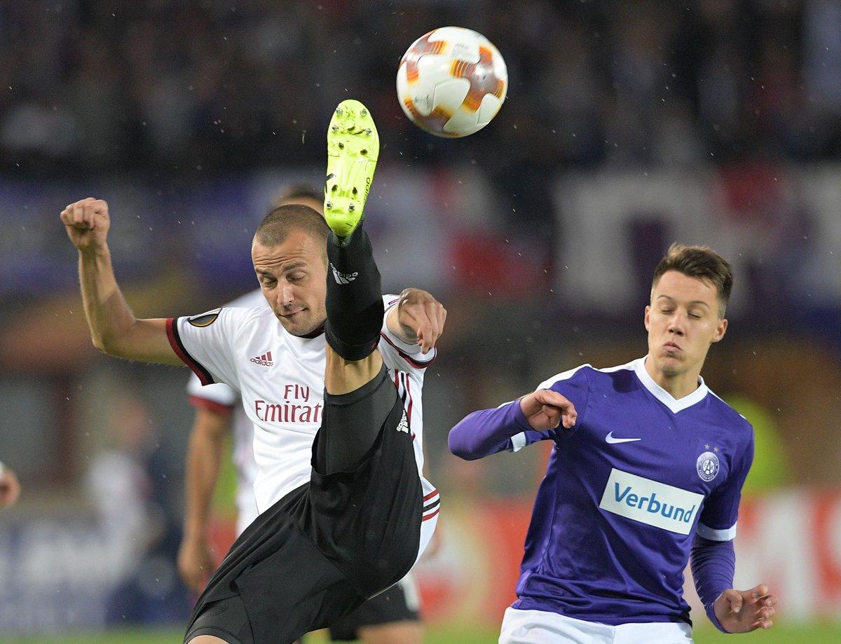 Austria Wien vs AC Milan Highlights