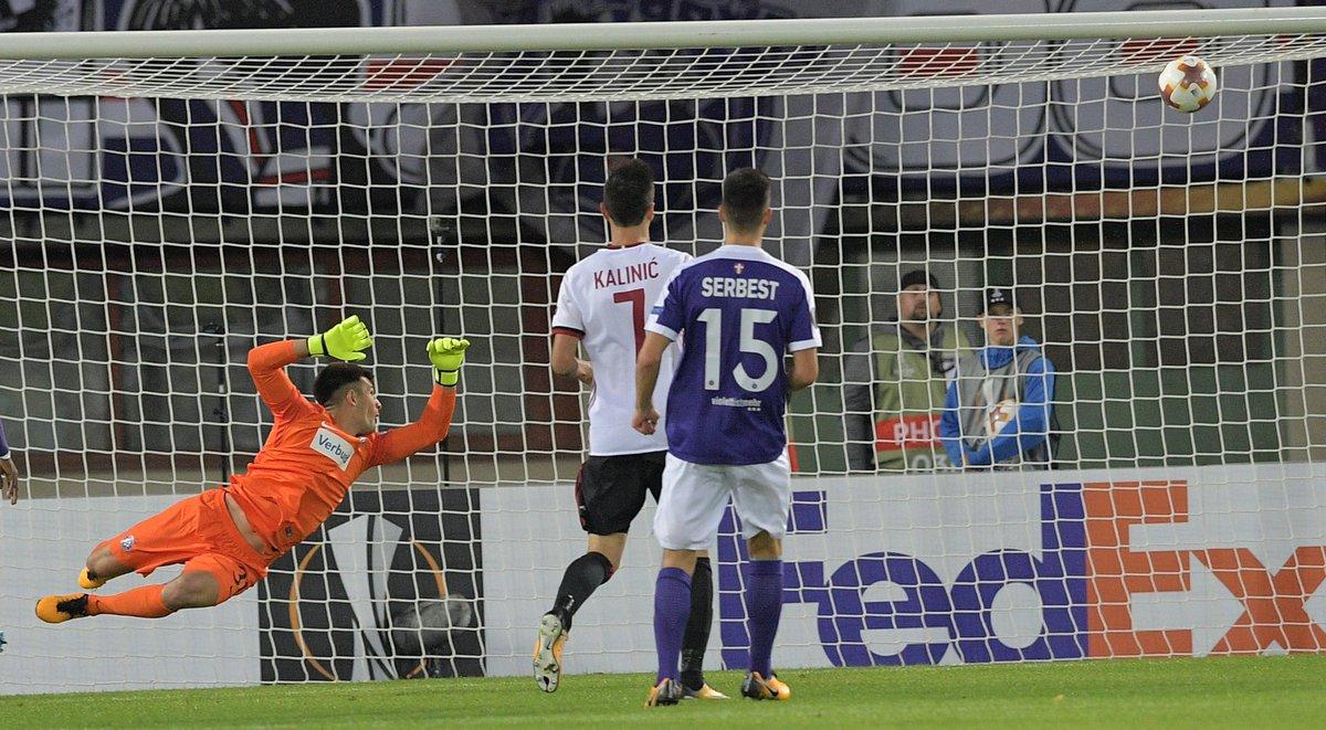 Austria Wien 1-5 AC Milan Highlights
