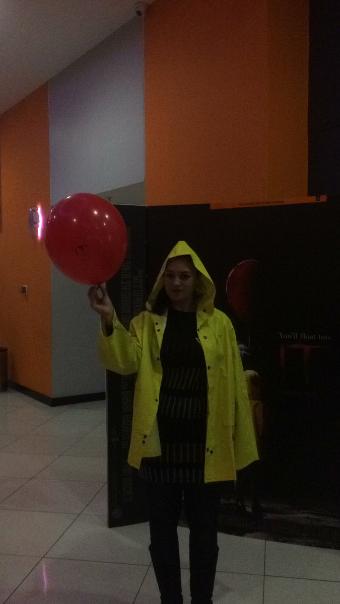About to watch #ITMovie #ExciteAMovie <br>http://pic.twitter.com/7mgLvtKADQ