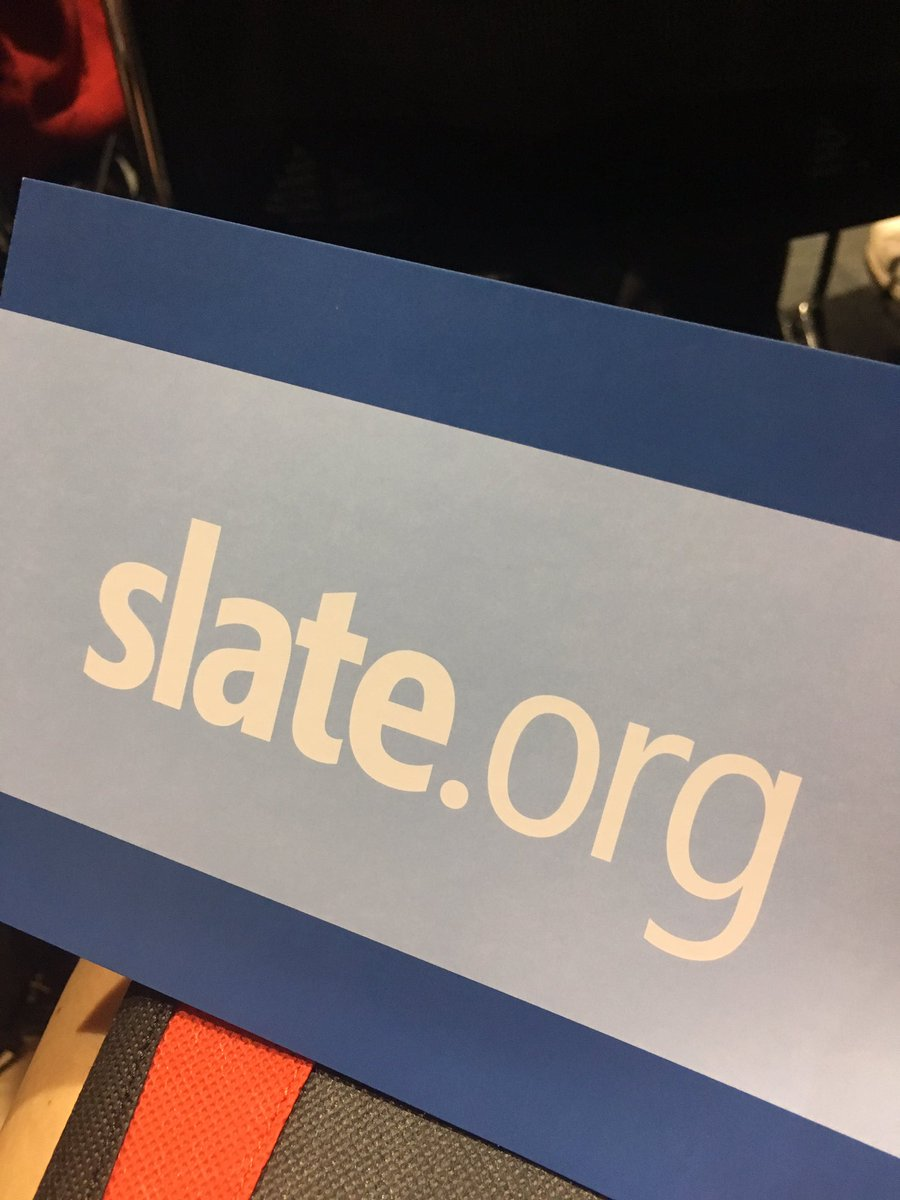 Oh hey there, @Technolutions. #slate #nacac17<br>http://pic.twitter.com/mFm9aGXBVG