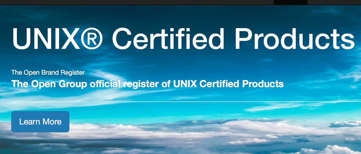 The Open Group On Twitter New Theopengroup Unix Certification