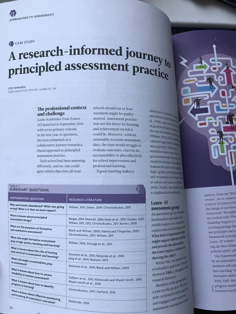 From the first @BeyondLevels conference to @CharteredColl Impact journal, read about the @L3arnAT journey so far #learning #fellowship <br>http://pic.twitter.com/OcRvjp1rX7