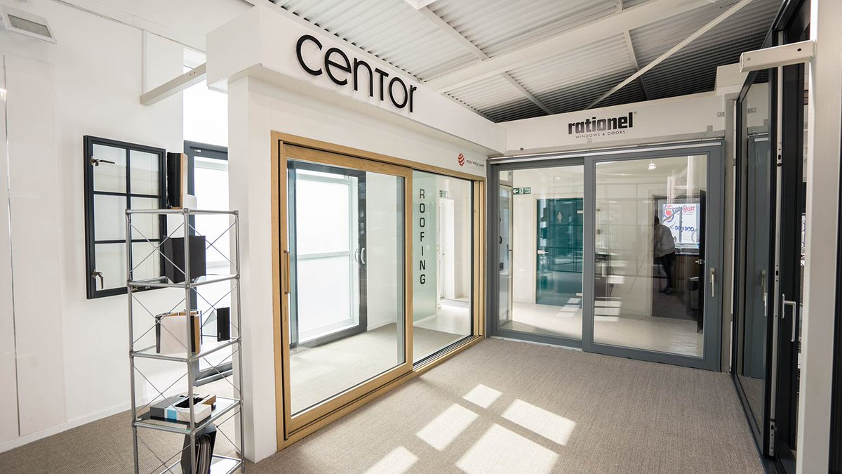Our new Centor Integrated sliding door display is now complete. #Wirral #Cheshire #Centor #NorthWest #Heswall //.johnknightglass.co.uk ... & centor hashtag on Twitter