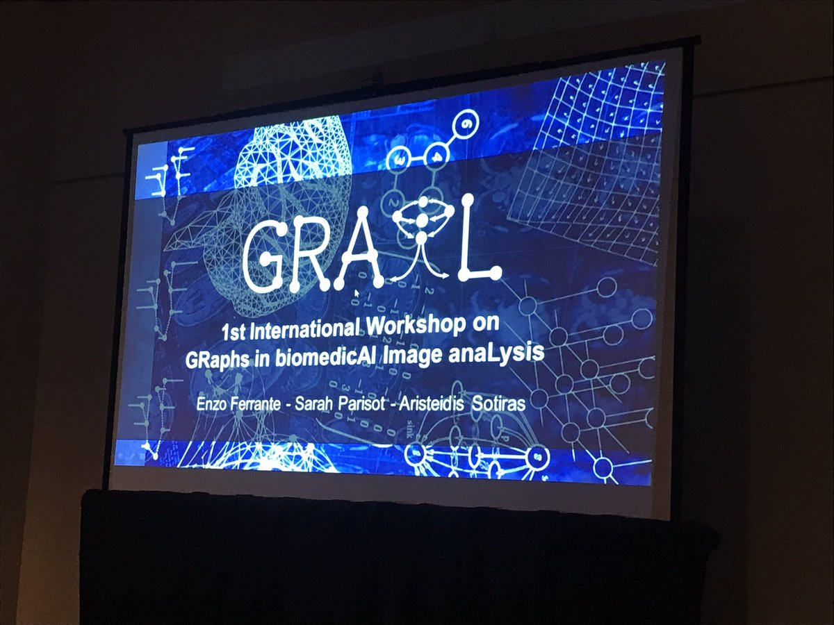 Grail workshop is starting now! #miccai2017 @BioMedIAICL<br>http://pic.twitter.com/vdeavUvPlc