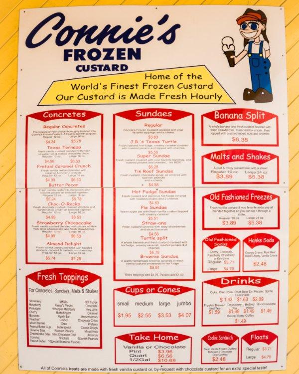 Looking at you menu