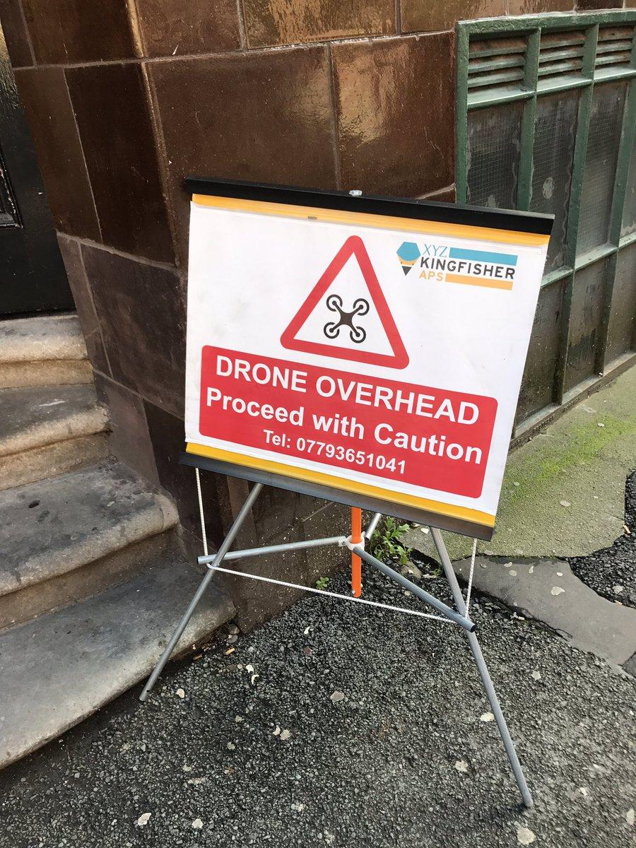 Man warning sign