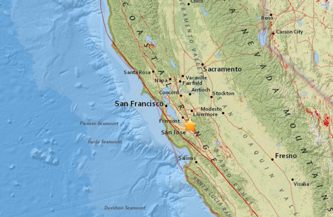 nbc bay area on twitter did you feel it 3 3 magnitude earthquake in the east sanjose foothills https t co x640avaxlz https t co uu9plz6fii
