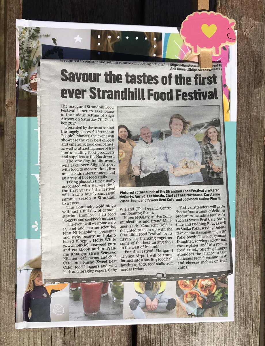 Big thanks to the @SligoChampion for the coverage. We're on the countdown to #StrandhillFoodFest  Get your ticket  http://www. strandhillfoodfestival.com    <br>http://pic.twitter.com/atWXS01nO5