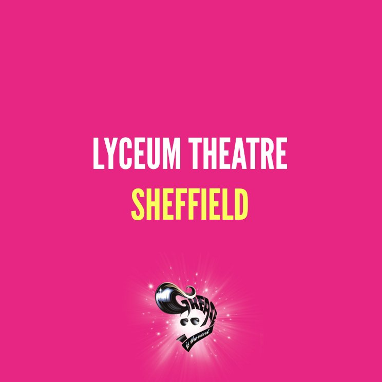 RT @greasemusical: #GreaseUKTour is heading to @sheffieldlyceum! 💘   https://t.co/gvFnjbtGCD https://t.co/11Pi6E9L71
